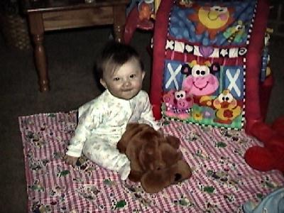 Her first dog